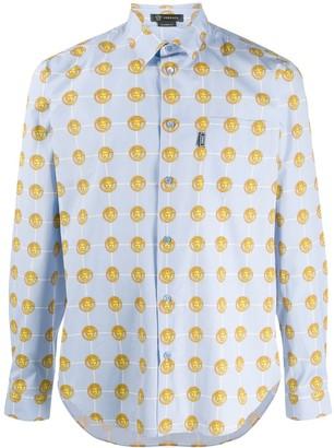 Versace Medusa Head Pattern Shirt
