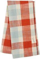 Pehr Designs Slubby Cotton Tea Towel, Cloud/Tomato - Cloud/Tomato
