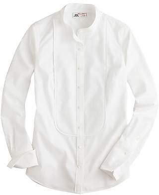 Thomas Mason for J.Crew mandarin-collar tuxedo shirt