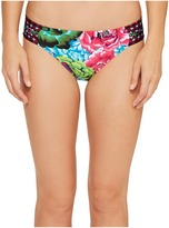 LaBlanca La Blanca - Flora Garden Side Shirred Hipster Bottom Women's Swimwear