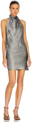 RtA Abella Dress in Cement Dyed | FWRD