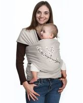 Moby Wrap Designs Baby Carrier in Almond Blossom