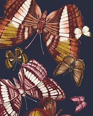 Echo Silk Dancing Butterflies Print Scarf