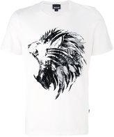Just Cavalli lion print T-shirt - men - Cotton - S