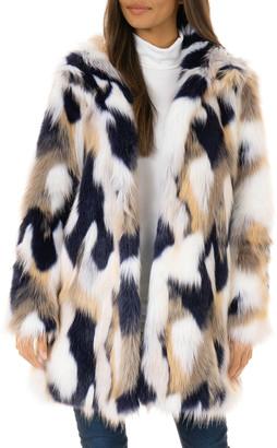 Fabulous Furs VIP Faux-Fur Stroller Coat - Inclusive Sizing