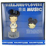 Gwen Stefani Harajuku Lovers Music by Gift Set -- 1 oz Eau De Toilette Spray + Solid Perfume for Women - 100% Authentic