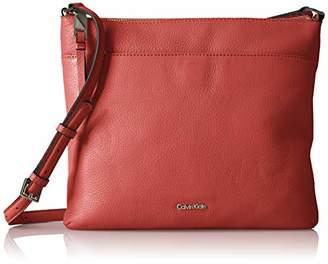 Calvin Klein North South Pebble Leather Crossbody