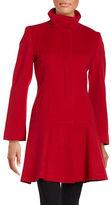 Sofia Cashmere Button-Front Wool-Cashmere Coat