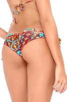 Luli Fama Women's Ruched Brazilian Bikini Bottoms