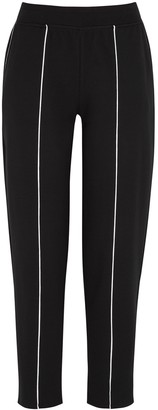 ATM Anthony Thomas Melillo Black cotton-blend sweatpants