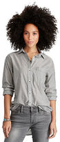 Denim & Supply Ralph Lauren Striped Boyfriend Shirt