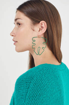 Oxbow Designs Leaf Earring
