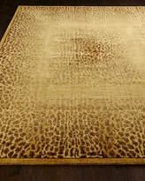 "Horchow Leopard Shadow Runner, 2'3"" x 8'"