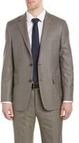 Hickey Freeman Milburn Ii Wool Suit With Flat Pant.