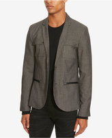 Kenneth Cole Reaction Men's Chambray Military Blazer