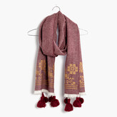 Madewell Embroidered Textile Scarf