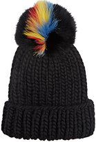 Eugenia Kim Women's Pom-Pom Knit Hat-BLACK
