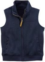 Carter's Boys 4-7 Zip-Up Sweater Vest