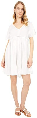 Rip Curl In Your Dreams Dress (White) Women's Dress