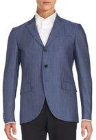 John Varvatos Virgin Wool-Blend Blazer