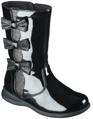 Rachel Toddler Girl's Starlight Boot - Black