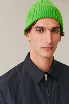 Cos Chunky Ribbed Cashmere Beanie
