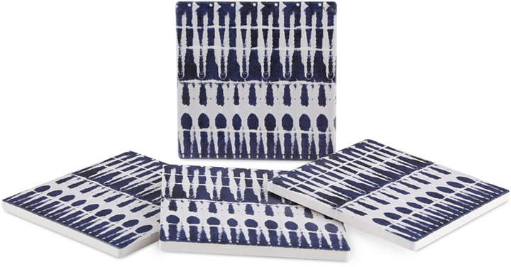 Thirstystone Blue Dye IV 4-Pc. Coaster Set