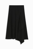 Rosetta Getty Godet Drape Skirt