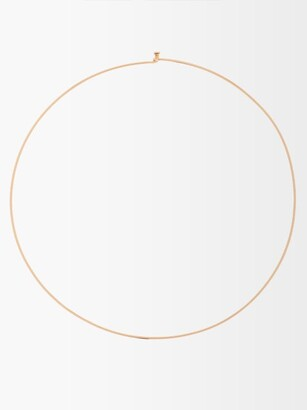 Dezso Wave 18kt Rose-gold Necklace - Gold