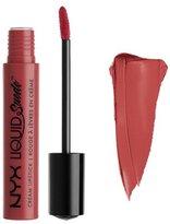 NYX (6 Pack Liquid Suede Cream Lipstick 04 Soft Spoken