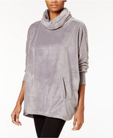 Hue Lounge Turtleneck Pajama Top Poncho