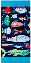 Pottery Barn Kids Funny Fish Kid Beach Towel