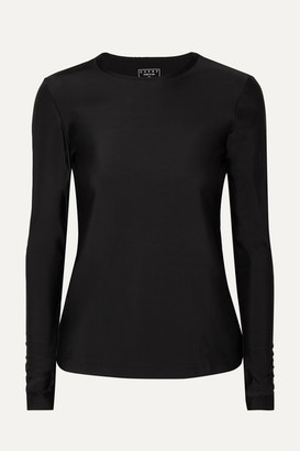 Cover Net Sustain Stretch Recycled Rash Guard - Black