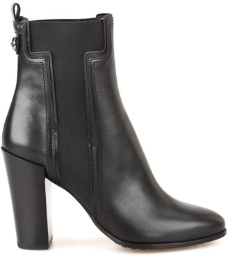 Tod's Chunky Heel Chelsea Boots