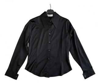 Cerruti Black Silk Tops