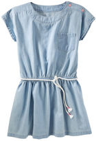 Osh Kosh Chambray Pocket Dress
