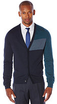Perry Ellis Color Block Cardigan