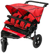 N. Out 'N' About Nipper V4 Double Pushchair, Red