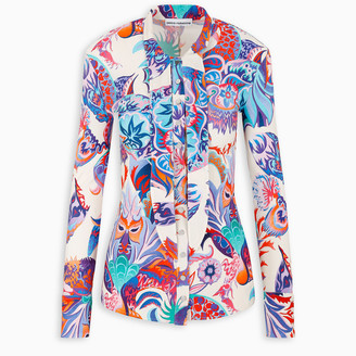 Paco Rabanne Psychedelic tunic shirt