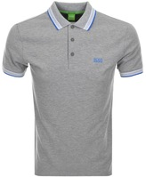 BOSS GREEN Paddy Polo T Shirt Grey