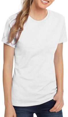 Hanes Black Label Women's Plus Size Lightweight Short Sleeve Crew T-Shirt