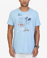 Nautica Men's Big & Tall Graphic Print T-Shirt