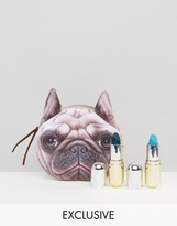 Winky Lux ASOS Exclusive Lipstick Duo & FREE Pug Pouch