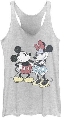 Licensed Character Juniors' Disney Mickey And Minnie Retro Friends Tank