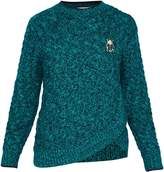 Ted Baker Charo CBN Cable Knit Wrap Jumper