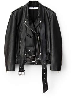 Alexander Wang Alexanderwang martingale leather jacket