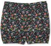 Gap Print poplin bubble shorts