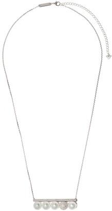 TASAKI 18kt white gold Balance Signature Decade South Sea pearl diamond pendant necklace