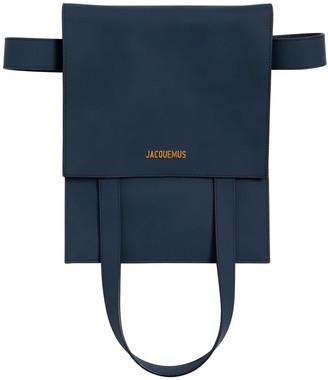 Jacquemus Le Sac Murano Matte Leather Belt Bag