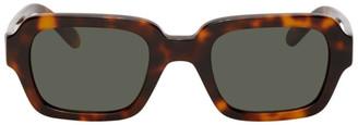 Han Kjobenhavn Tortoiseshell Code Sunglasses